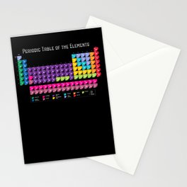 Periodic Table Stationery Cards