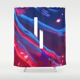 Thought Ballune II Shower Curtain