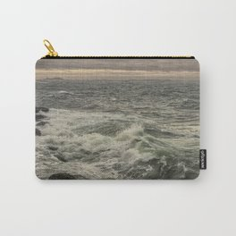 Waves at sunset Carry-All Pouch