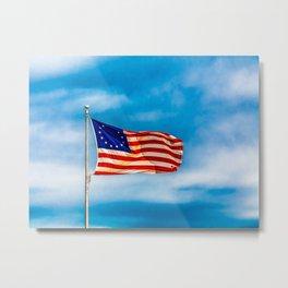 Original Flag Metal Print