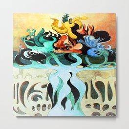 Jens Lund My Soul Floats on Perfume Metal Print