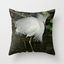 A Mess of Happiness Throw Pillow