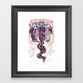 Playoff Beards Framed Art Print