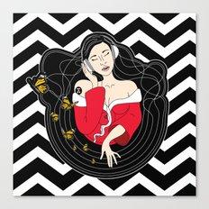 Osaka Spin Canvas Print