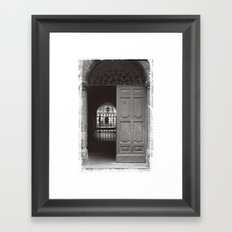 Rome Door 3 Framed Art Print