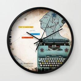 Static Grate 289 Wall Clock