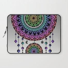 Rainbow Mandala Dream Catcher Laptop Sleeve