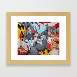 The Uprising Framed Art Print