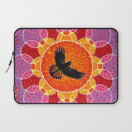 Flight of the Black Cockatoo Laptop Sleeve