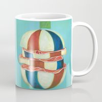 dragon ball Mugs featuring Ball by colorlabo