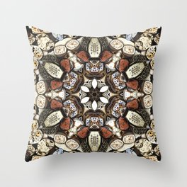 Intricacies of Time Throw Pillow