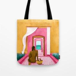 Caribbean Calling Tote Bag