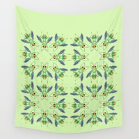 bug Wall Tapestries featuring Bug by MinaSparklina