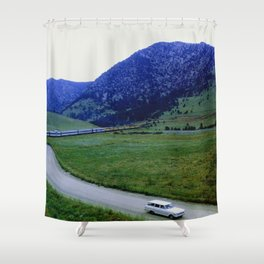 The Getaway Shower Curtain