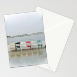 chair family Stationery Cards