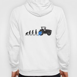 Agricultural Machine Mechanic Evolution Tractor Gift Hoody
