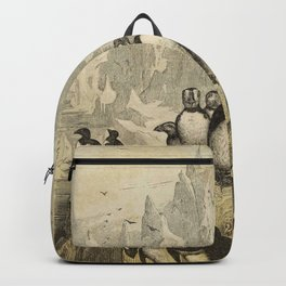 Naturalist Penguin And Puffin Backpack