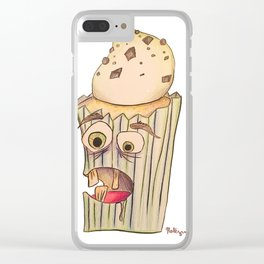 A cupcake named Igor Clear iPhone Case