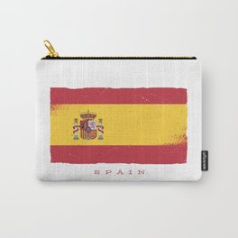 SPAIN GRUNGE FLAG Carry-All Pouch
