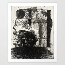 Khaled in an Environment Art Print