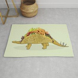 Tacosaurus - Taco Stegosaurus Dinosaur Rug