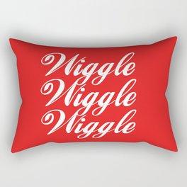 Wiggle Wiggle Wiggle Rectangular Pillow