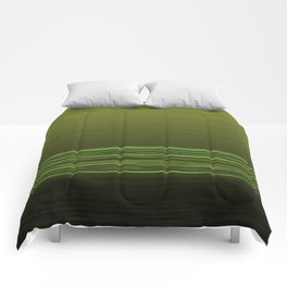 Horizon (olive green) Comforters