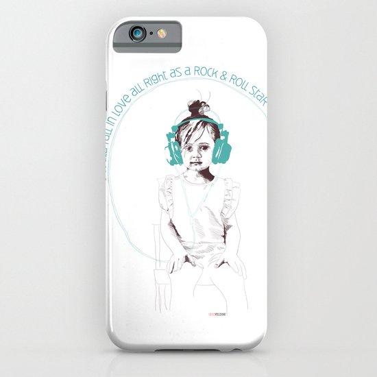 RocknRoll Girl iPhone & iPod Case