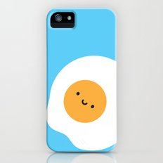 Kawaii Fried Egg Slim Case iPhone (5, 5s)