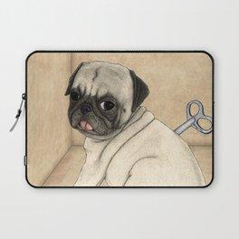 Toy dog; Pug Laptop Sleeve