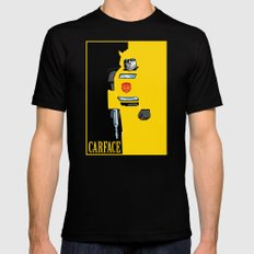 Carface X-LARGE Mens Fitted Tee Black