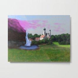 Phantasie Landschaftsbild Niederbayern Metal Print