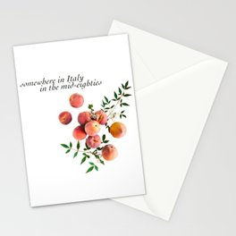 Call Me By Your Name - Inscription Stationery Cards