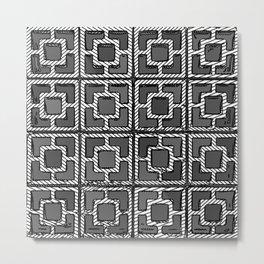 Geo- 4x4 Metal Print