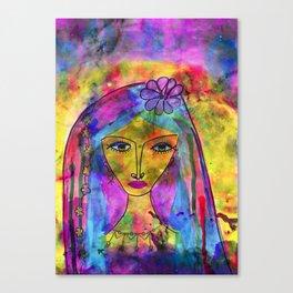 Heliya - The gypsy Queen Canvas Print