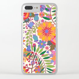 Just Flowers Lite Clear iPhone Case