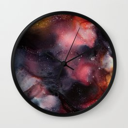 Beyond Dark Skies Wall Clock