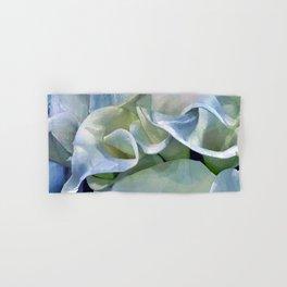 Pastel Blue Calla Lilies Hand & Bath Towel