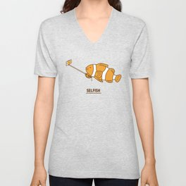 Selfish Unisex V-Neck