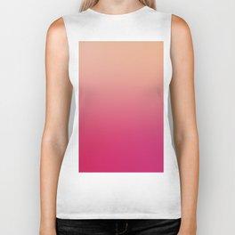GENTLE SOUL - Minimal Plain Soft Mood Color Blend Prints Biker Tank
