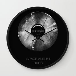 Platinum SPACE ALBUM 3066 Out of this World Wall Clock