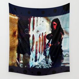 Inimical Beast Wall Tapestry