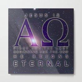 Alpha and Omega Metal Print