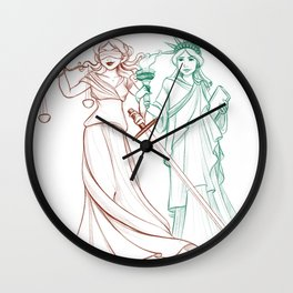 Liberty and Justice Wall Clock
