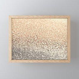 GOLD GOLD GOLD Framed Mini Art Print