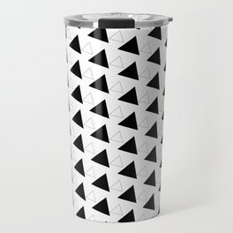 Triangles Geometric Pattern Design Travel Mug