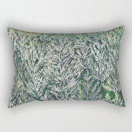 Snow Pines(Light Green) Rectangular Pillow
