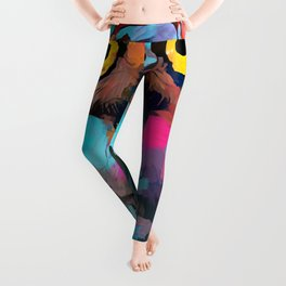 Burrowing Owl Leggings