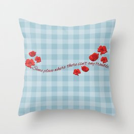 Someplace Throw Pillow