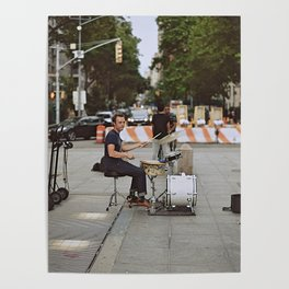Drummer in the Park Poster